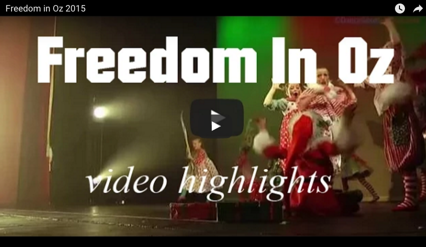 Freedom in Oz Video Highlights