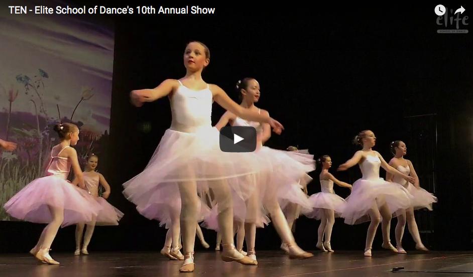 TEN – Elite School of Dance's 10th Annual Show
