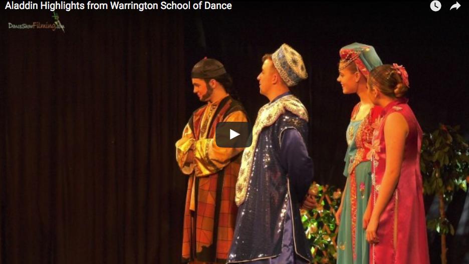 Aladdin Highlights from Warrington School of Dance